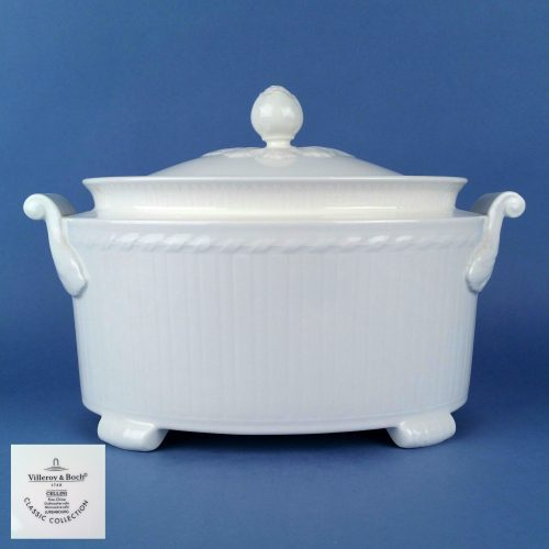 VILLEROY & BOCH Cellini 3.00ltr Covered Oval Soup Tureen