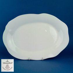 VILLEROY & BOCH Mira White 34cm Oval Platter