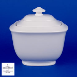 VILLEROY BOCH Royal Weiss Covered Sugar Bowl - 10-4412-0960 - NEW