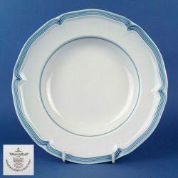 VILLEROY & BOCH Casa Azul Modesto 23cm Deep Plate