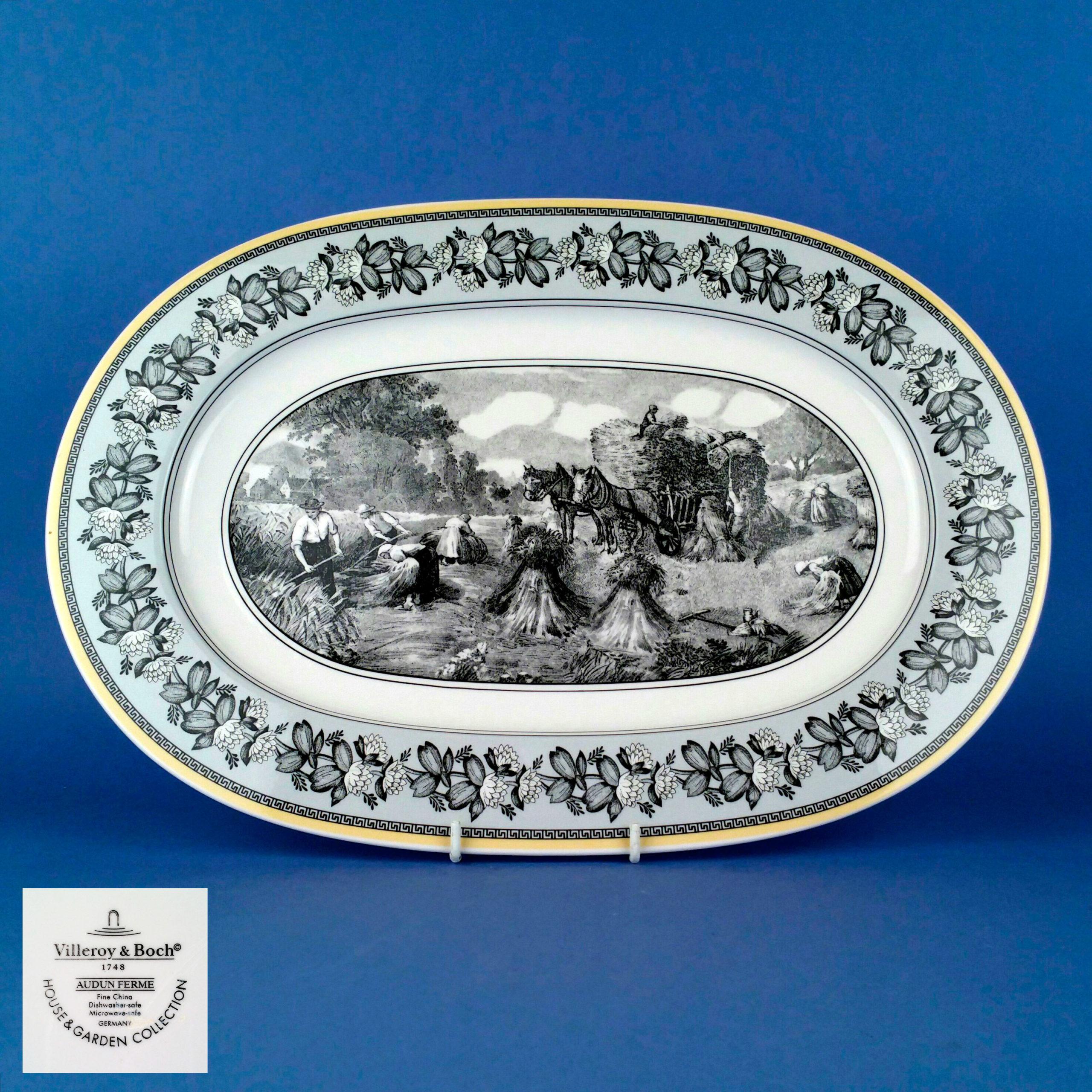 Villeroy Boch Audun Ferme 41cm Oval Platter 10 1067 2960 Designerxs