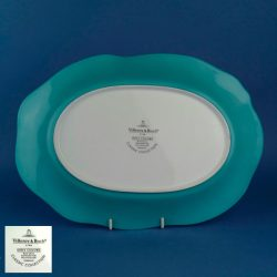VILLEROY & BOCH Mira Colore Azure 34cm Oval Platter