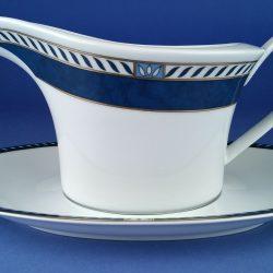 ROSENTHAL Idillio Reve Bleu Studio Line Sauce Boat & Saucer