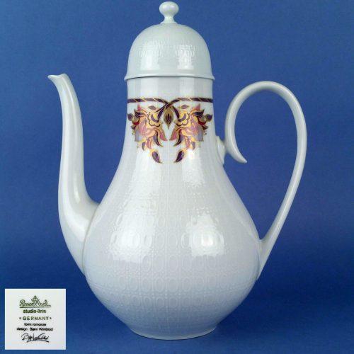 ROSENTHAL Studio Line Romance Orchid Coffee Pot 6 Cup