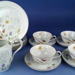 ROSENTHAL Helena Fine Porcelain Coffee Set No.3656 - 18 pieces