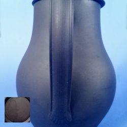 WEDGWOOD Black Basalt Vintage Chocolate Coffee Pot