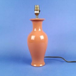 Pheonix Tail Ceramic Table Lamp Terracotta