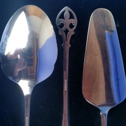 Edwardian EPNS Serving Set Scottish