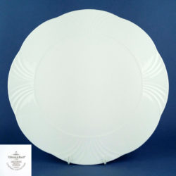 VILLEROY & BOCH Arco White 33cm Flat Round Platter